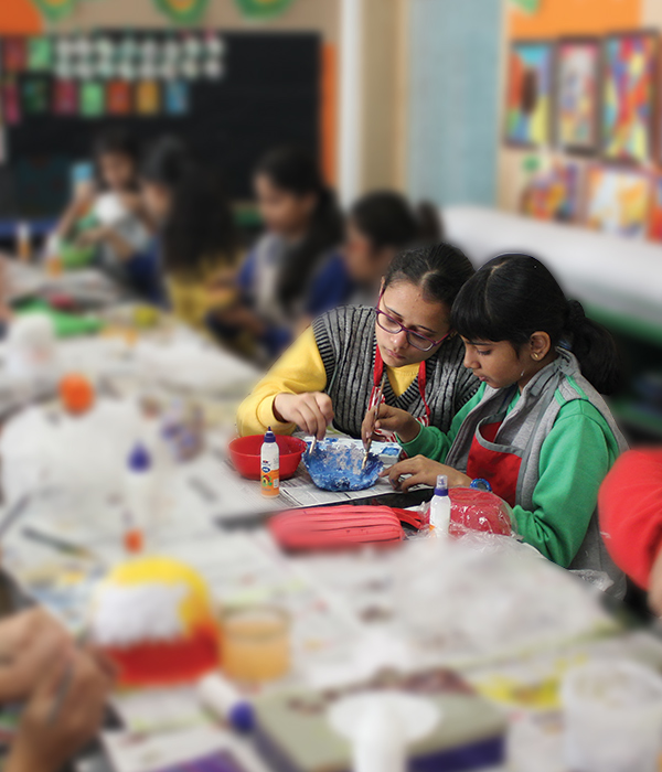 Art & Craft Club || Lotus Valley International, Gurgaon