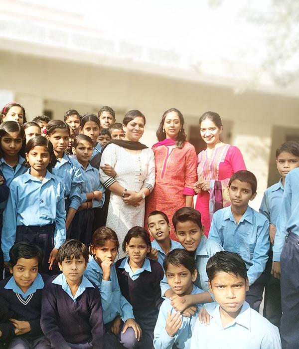 Community Service || Lotus Valley International, Gurgaon