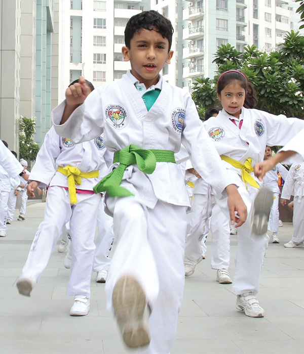 Taekwondo Club || Lotus Valley International, Gurgaon