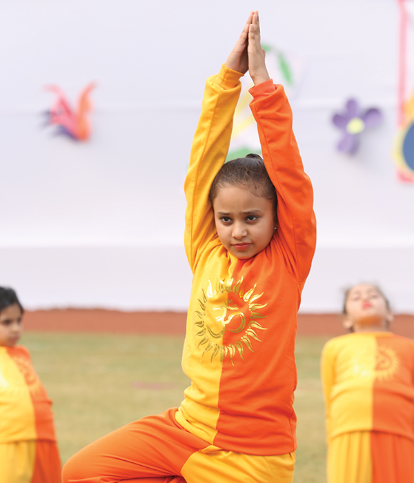 Yoga and Aerobics Club || Lotus Valley International, Gurgaon